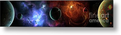 A Massive And Crowded Universe Metal Print