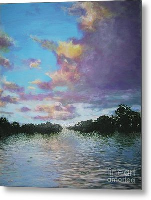 A Mauve Day Metal Print
