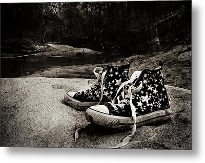 Metal Print featuring the photograph A Mile In My Shoes by Jessica Brawley