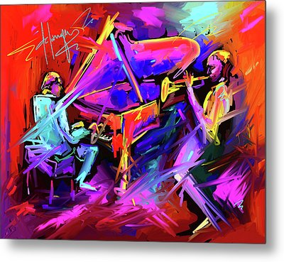 A Million Colors On You Mind Metal Print