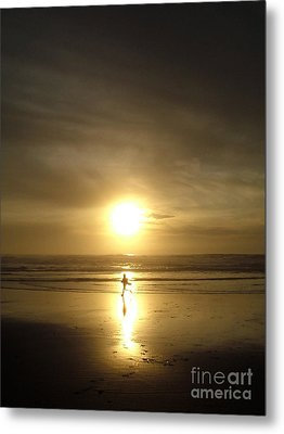 A Moment In The Sun Metal Print by Nick Gustafson