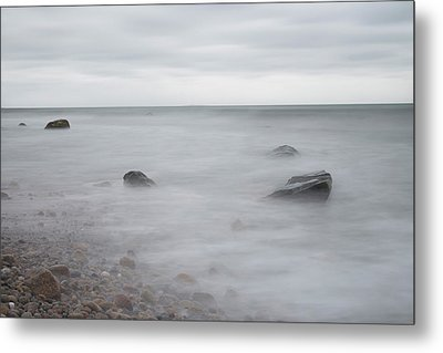 Metal Print featuring the photograph A Moment In Time On The Beach by Andrew Pacheco