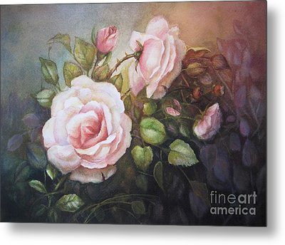 A Moment In Time Metal Print by Patricia Schneider Mitchell