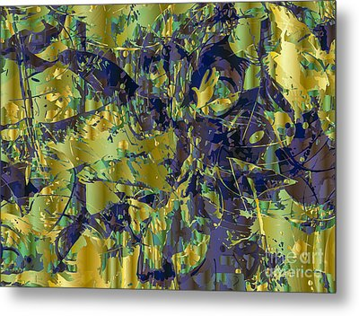 The Sweet Confusion Metal Print by Moustafa Al Hatter