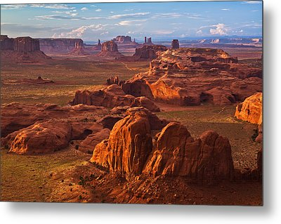 A Monumental View Metal Print by Guy Schmickle