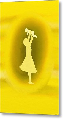 A Mother Metal Print by Angie Armstrong