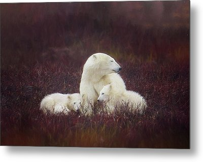 Metal Print featuring the photograph A Mother's Love by Debby Herold