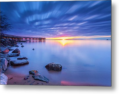 Metal Print featuring the photograph A New Dawn by Edward Kreis