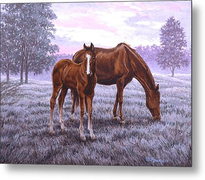 A New Day Begins Metal Print by Richard De Wolfe