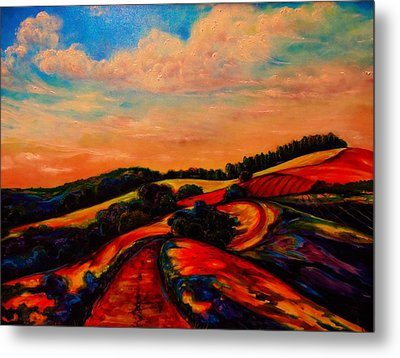 A New Day Dawning Metal Print by Emery Franklin