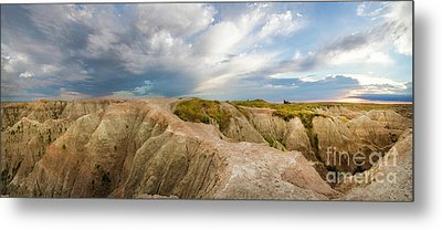 A New Day Panorama Metal Print