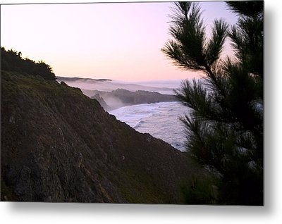 A New Day Ragged Point Metal Print