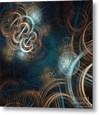 A Night At The Disco Metal Print