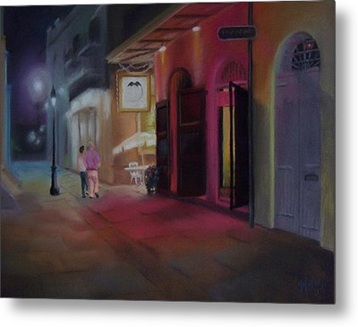 A Night On The Town Metal Print by Marcus Moller