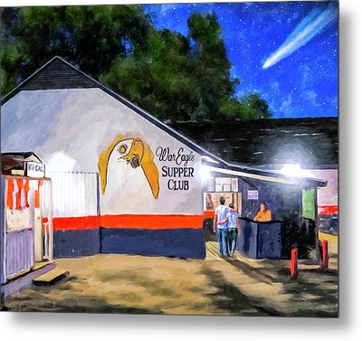 A Night To Remember In Auburn Metal Print by Mark Tisdale