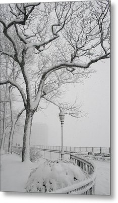 A Nor'easter In Brooklyn Metal Print