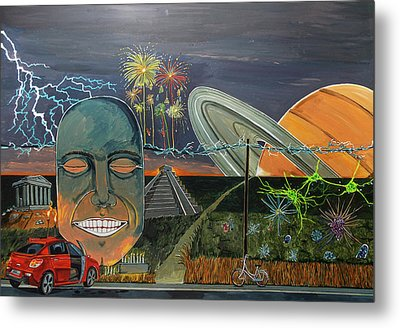 A Notion Of Happiness Metal Print