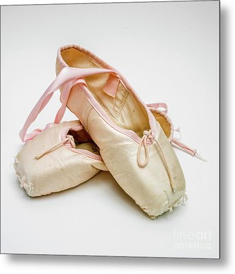 A Pair Of Ballet Shoes Metal Print