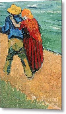 A Pair Of Lovers Metal Print by Vincent Van Gogh