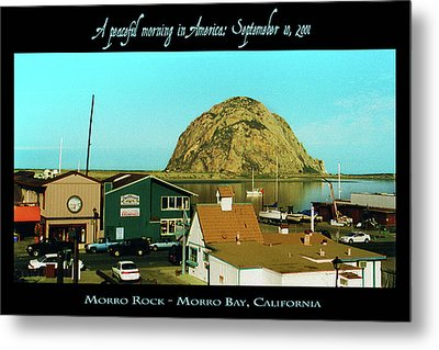 A Peaceful Morning In America 9-10-01 Metal Print