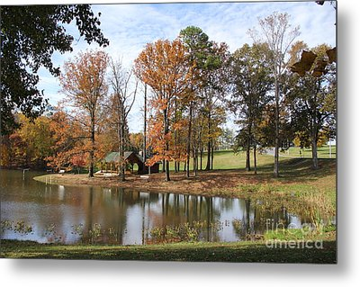 A Peaceful Spot Metal Print