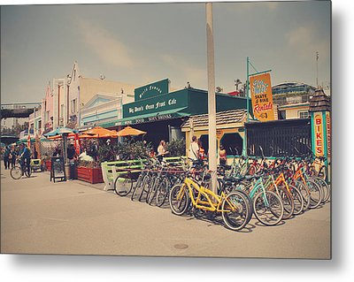 A Perfect Day For A Ride Metal Print by Laurie Search