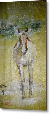 Metal Print featuring the painting A Picture Of Freedom by Debbi Saccomanno Chan