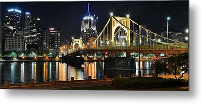 A Pittsburgh Panorama Metal Print by Frozen in Time Fine Art Photography