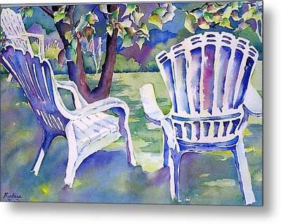 A Place In The Shade Metal Print by Barbara Jung