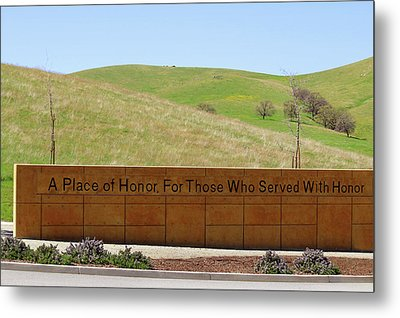 A Place Of Honor Metal Print by Art Block Collections