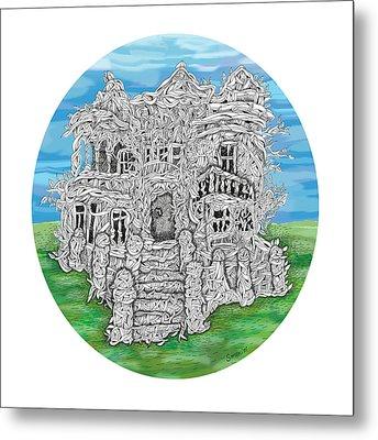 House Of Secrets Metal Print