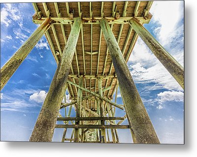 Metal Print featuring the photograph A Place To Chill by Paula Porterfield-Izzo