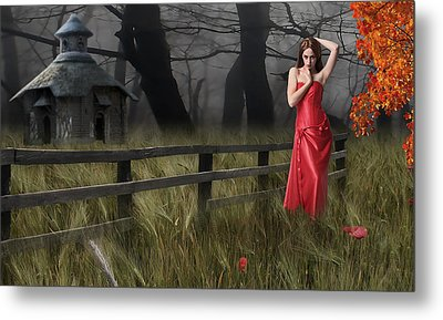 Metal Print featuring the mixed media A Place To Remember by Marvin Blaine