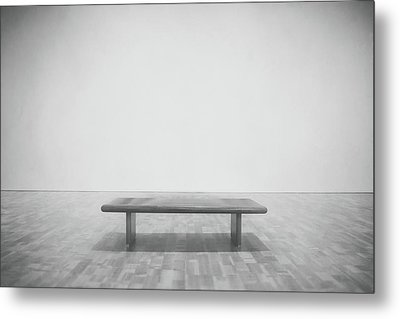 A Place To Sit 3 Metal Print by Scott Norris