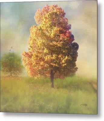 A Poem As Lovely As A Tree - Autumn Art Metal Print by Jordan Blackstone