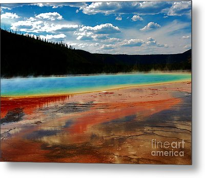 Metal Print featuring the photograph A Pool Of Color by Robert Pearson