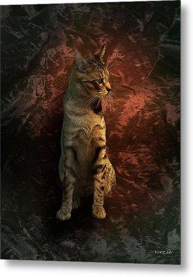 A Portrait Of Coco Metal Print