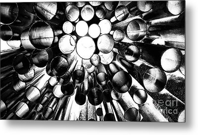 A Question Of Perspective 2 Sibelius Monument Metal Print