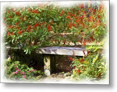 A Quiet Place Metal Print by Carolyn Marshall
