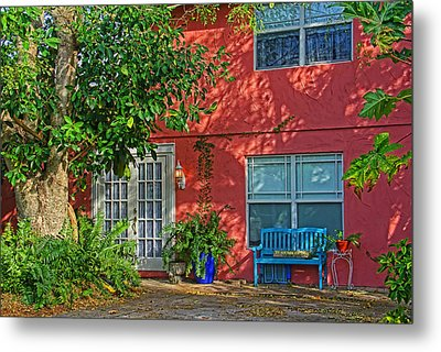 A Quiet Respite Metal Print by HH Photography of Florida