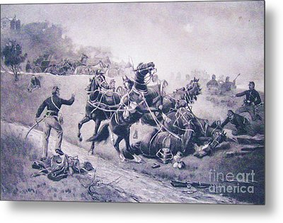 A Recollection Of Gettysburg Metal Print by Roberto Prusso