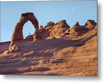 A Red Rock Wonderland. Metal Print