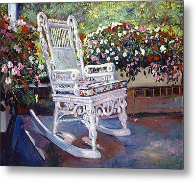A Rest In The Shade Metal Print by David Lloyd Glover