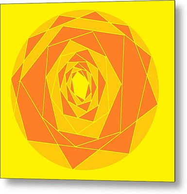 A Rose By Any Other Name 1 Metal Print by Linda Velasquez