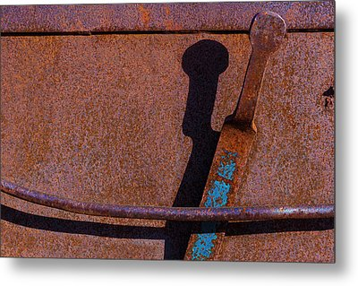 Metal Print featuring the photograph A Rusted Development II by Paul Wear