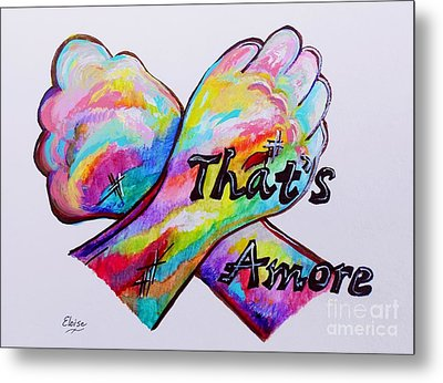 A S L ... That's Amore Metal Print