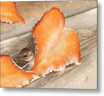 A Safe Place Metal Print by Veronica Minozzi