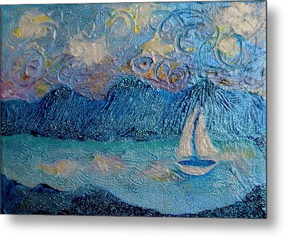 A Sailboat For The Mind #2 Metal Print