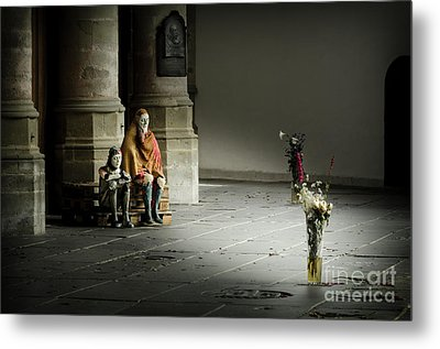 A Scene In Oude Kerk Amsterdam Metal Print by RicardMN Photography