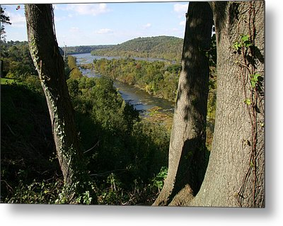 A Scenic View Of The Potomac River Metal Print by Stephen St. John
